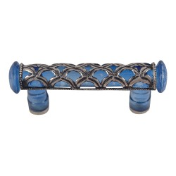 """Atlas MG30 Tangeres Glass Pull, Size- 3"""""""