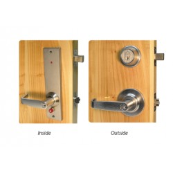 Quick Intruder Deadbolt - Cylindrical