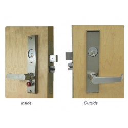 Quick Intruder Deadbolt - Mortise