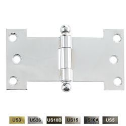 "CALROYAL-PARH-3A Parliament Hinge Residential Weight Plain Bearing 3"" x 2 1/4"" x 0.093"""