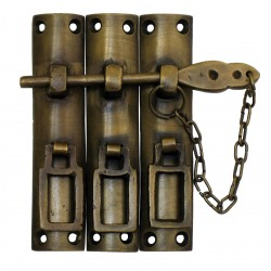 Gado Gado HLA7014 Three-Piece Lock with Chain