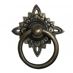 Gado Gado HRP5010 Ring Pull w/ Carved Filigree Star Backplate