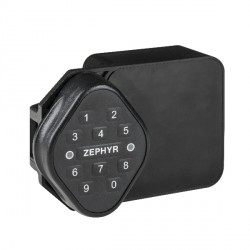 Zephyr 2200 Traditional Series Electronic RFID Lock, Spring Latch (Keypad or Card Access)