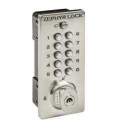 Zephyr Lock 3510 Mechanical Push Button Locker Lock