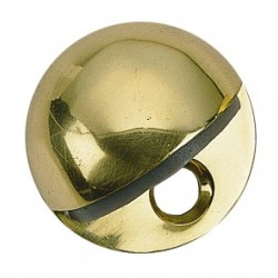 Brass Accents A07-S8810 Oval Floor Door Stop 1/4""