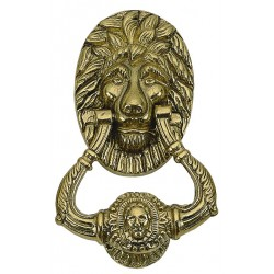 Brass Accents A07-K5000 Lion Door Knocker 7-1/2""