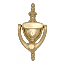 Brass Accents A07-K65 Traditional Door Knocker 6""