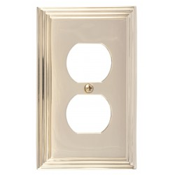 Brass Accents M02-S2510 Classic Steps Single Outlet