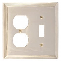 Brass Accents M02-S2540 Classic Steps DBL 1-SW/1-OUT
