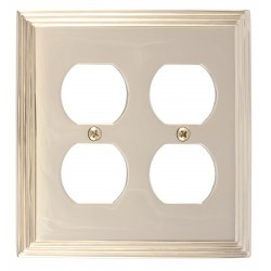 Brass Accents M02-S2560 Classic Steps Double Outlet