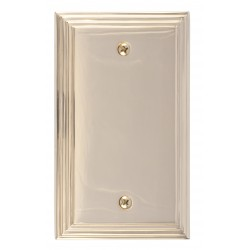 Brass Accents M02-S25X0 Classic Steps Single Blank
