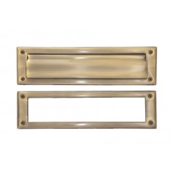 "Brass Accents A07-M0070 Mail Slot - 3"" x 10"""