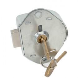 Zephyr 1770 Built-in Key Lock w/ Dead Bolt, Includes 2 Keys/Lock