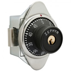 Zephyr 1970 Built-In Combination Lock, w/ Manual Dead Bolt for Doors