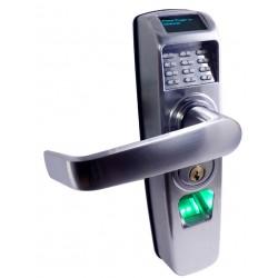 Westinghouse Security RTS-Z Pin Code & Biometric Grade 2, 2-3/4 Tubular Lock w/ Wireless Z-Wave Latch