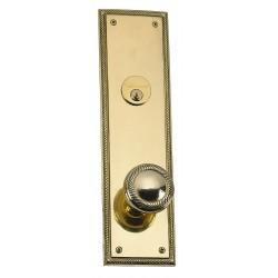 """Brass Accents D06-K240D Academy 12"""" Plate"""