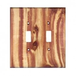 Sierra 6821 Traditional 2 Toggle - Juniper Plate