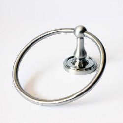 Rustic 8286SN Midtowne Satin Nickel Towel Ring