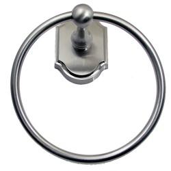 Rustic 8686SN Wenmoor Satin nickel Towle Ring