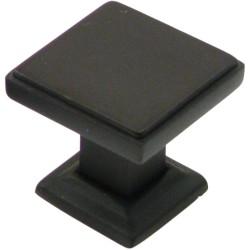 """Rustic 991 1 1/8"""" Square Knob"""