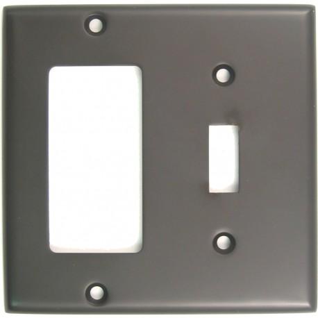 Rusticware 788 Double Rocker/Switch Switchplate
