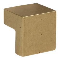"Atlas A865 Small Square Knob, Size- 5/8"""