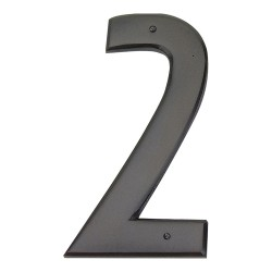 ATLAS-RCN2 MISSION House Number Oil Rubbed Bronze 2