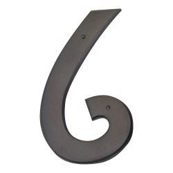ATLAS-RCN6 MISSION House Number Oil Rubbed Bronze 6