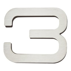 ATLAS-PGN3 PARAGON House Number Stainless Steel 3