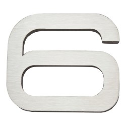 ATLAS-PGN6 PARAGON House Number Stainless Steel 6