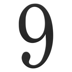 ATLAS-TRN9 TRADITIONAList House Number Black 9