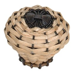 Atlas 3122 Bamboo Wire Weaved Knob 2 Inch