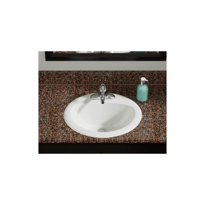 60 or more off polaris po8102b bisque overmount bathroom sink