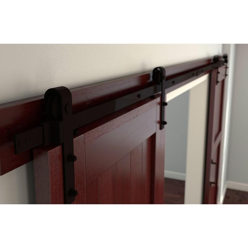 Stanley National N186 962 960 Decorative Barn Door Track Interior Sliding Door Hardware
