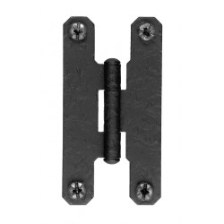 "Acorn RH1 3"" Hinge Flush Rough Iron (Sold in Pairs)"