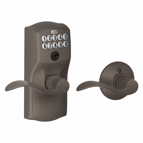 Schlage FE575 Camelot Keypad Entry Auto-Lock with Accent Lever