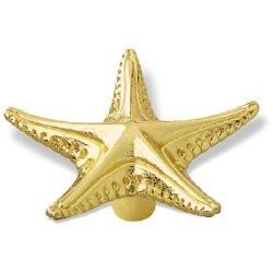 SIRO-1126-64 Ocean Line Rivet Starfish Knob