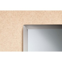 Bobrick B-165 Channel-Frame Mirror