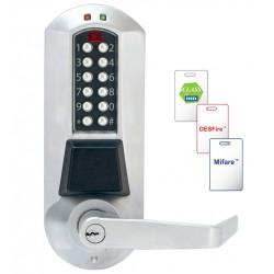 Kaba E-Plex 5600 Series Electronic Pushbotton Lock