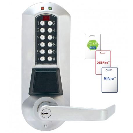 Kaba E-Plex 5600 Series Electronic Pushbotton Lock