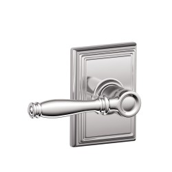 Schlage Birmingham Door Lever with Addison Decorative Rose