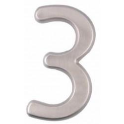 """A'dor 4"""" House Number Concealed 3"""