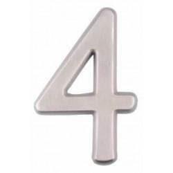 """A'dor 4"""" House Number Concealed 4"""