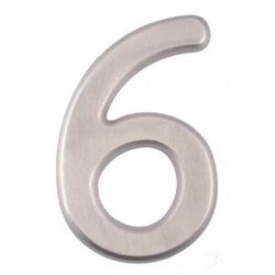 """A'dor 6"""" House Number Concealed 6"""