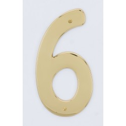 "A'dor 3.5"" House Number 6"