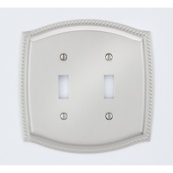 A'dor Rope Double Switch Switchplate