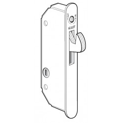 Adams Rite 5017 Wood Door Deadlock/Deadlatch to Secure Siding Wood doors