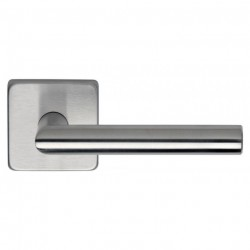 Omnia 12S-00 Lever Stainless Steel Latchset