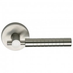 Omnia 33-00 Lever Stainless Steel Latchset