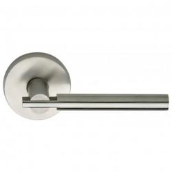 Omnia 25-00 Modern Apartment Stainless Steel Door Lever